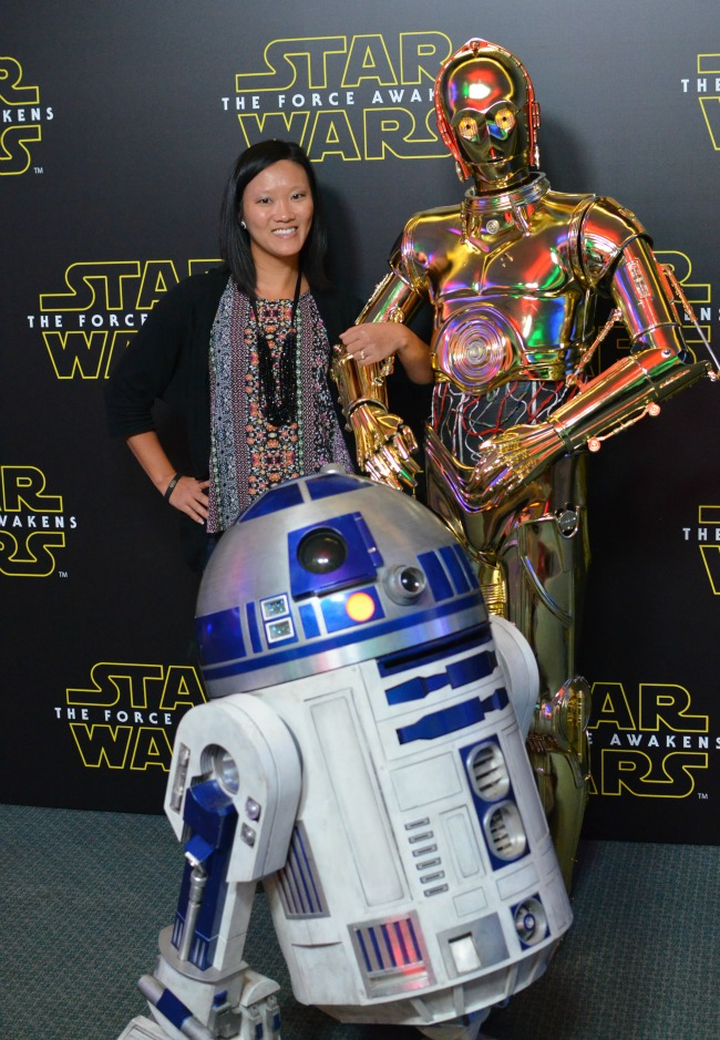 Star wars press conference photo tour