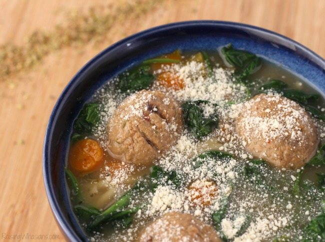Crockpot Italian wedding soup Gluten-Free Slow Cooker Italian Wedding Soup Recipe   A delicious healthier twist on a hearty soup for the family, made in your crock pot, no gluten #Recipe #SlowCooker #Soup #EasyRecipe #GlutenFree #GlutenFreeRecipe
