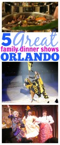 5 Great Family Dinner Shows in Orlando
