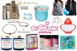 Be Mine Mommy Prize Pack Giveaway – $400 Value
