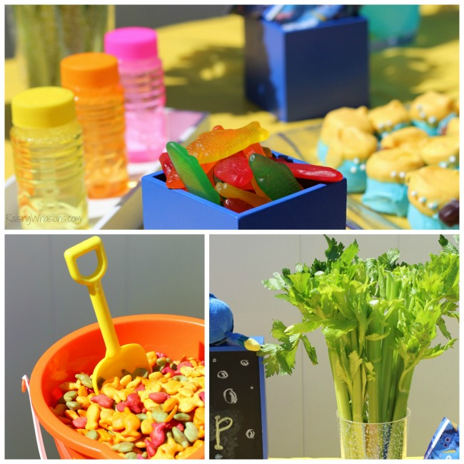 Finding Dory party food ideas