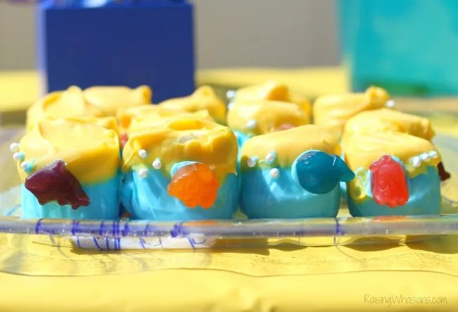 Finding Dory party food