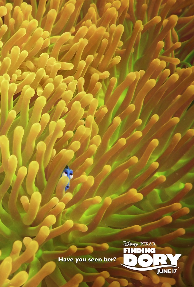 Finding Dory movie posters just released