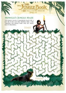 FREE Disney Jungle Book Printables for Kids #JungleBook