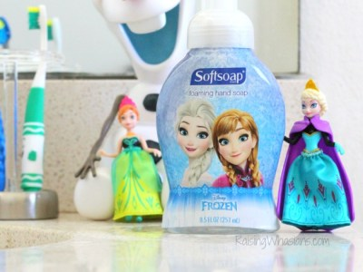 Disney frozen bathroom makeover