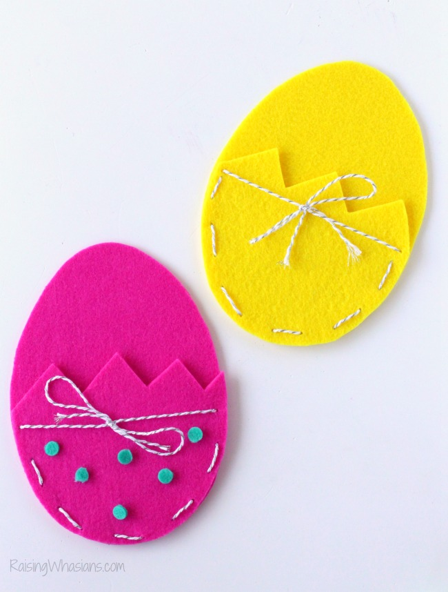 Easy Easter treat bag