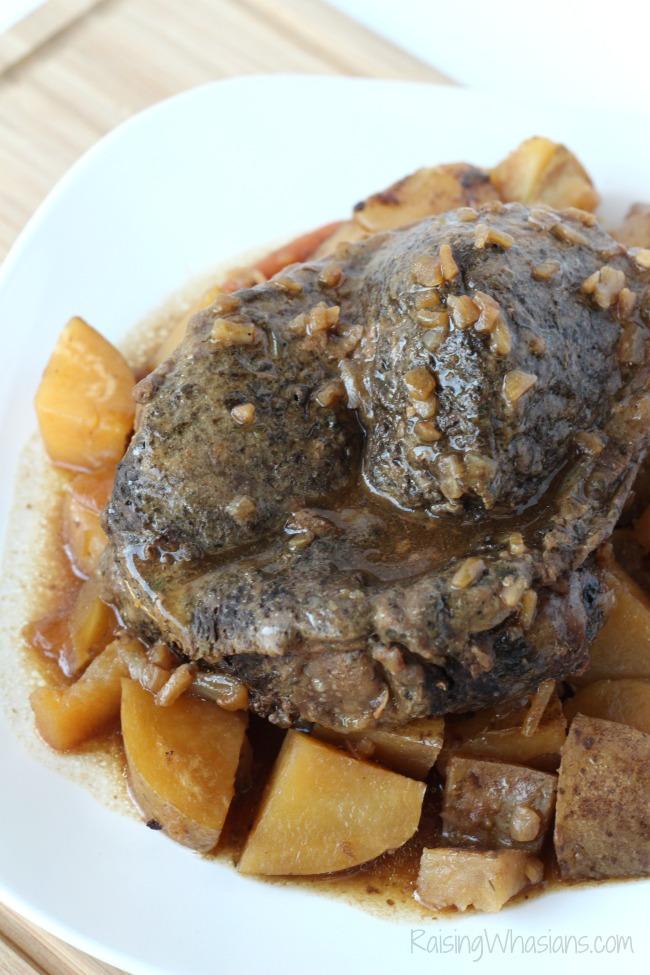 Slow cooker pot roast easy