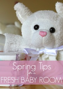 5 Spring Tips for a Fresh Baby Room + Renuzit Sensitive Scents Giveaway
