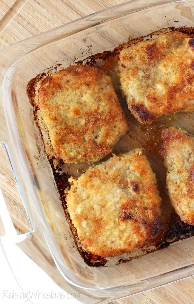 Stuffing crusted pork chops recipe