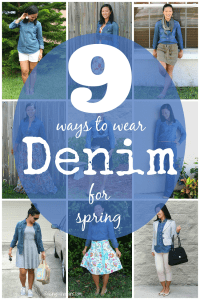 9 Ways to Style a Denim Shirt for Spring