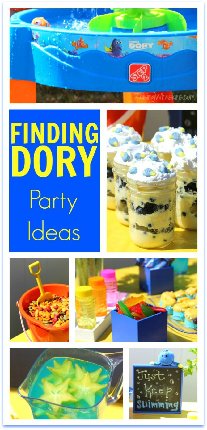 Finding Dory party idea