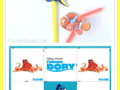 Free finding Dory kids activities