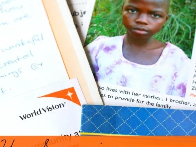 How sponsoring a world vision child changed our family