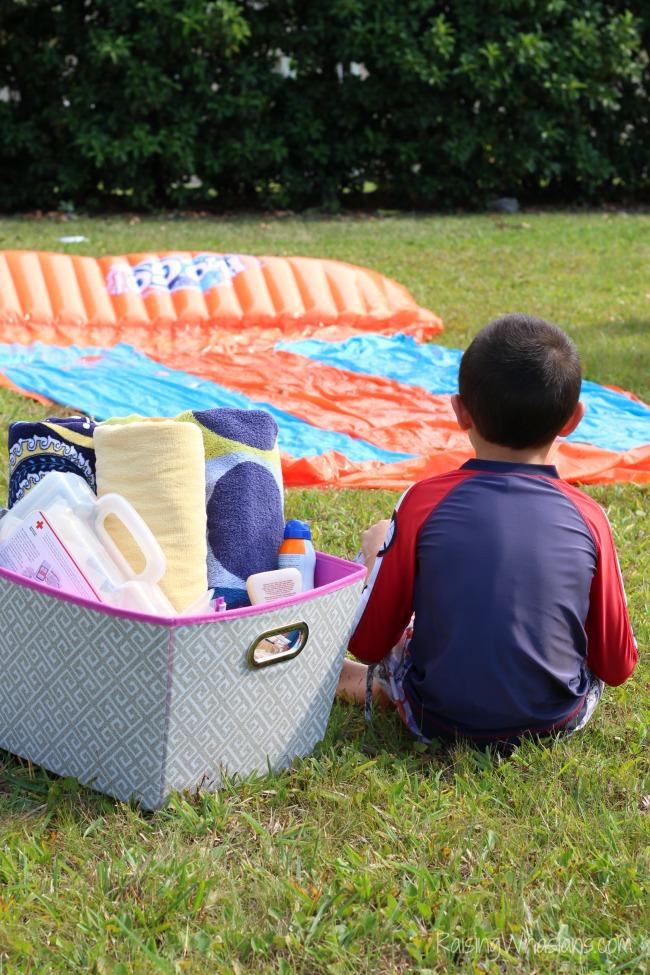 Summer tips for families kit