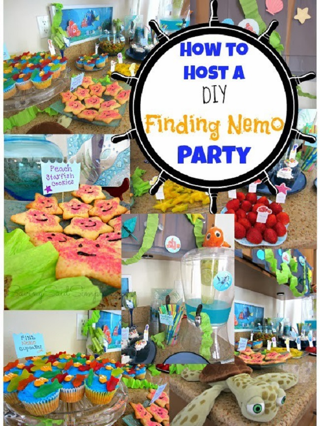 DIY finding nemo party ideas