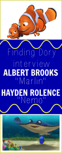 Hayden Rolence & Albert Brooks Interview | Why Finding Dory Is NOT Finding Nemo #FindingDoryEvent