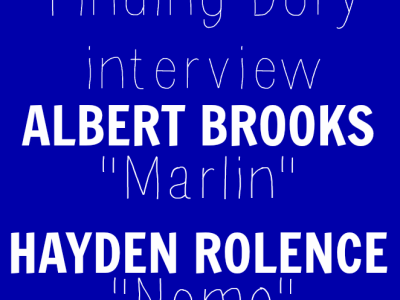 Hayden Rolence Albert Brooks interview finding Dory
