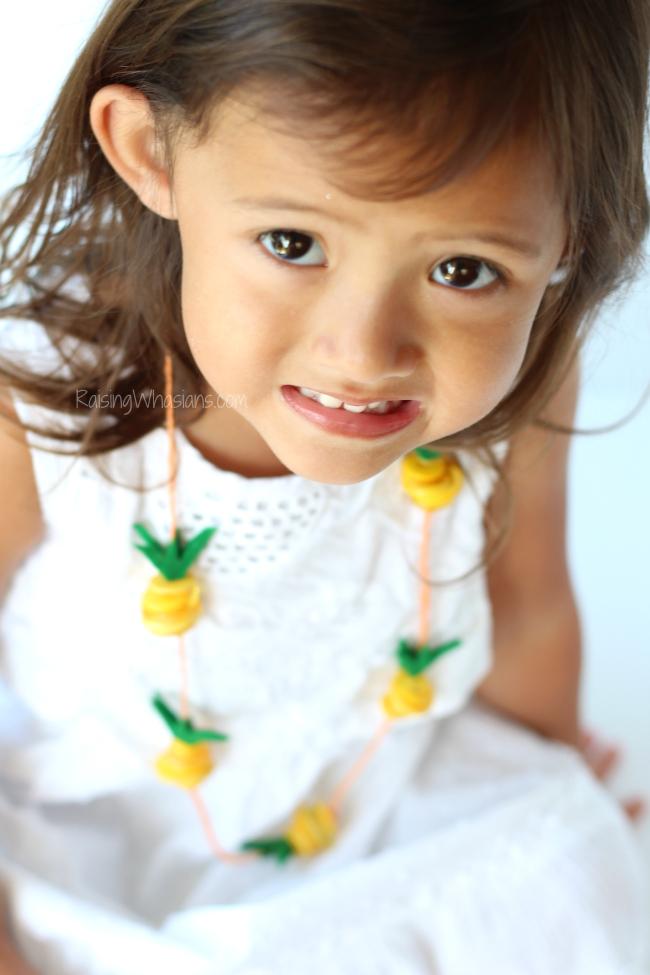 Summer necklace kids craft