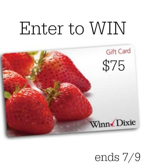 Winn Dixie gift card giveaway