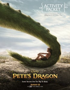 Free Pete's Dragon Coloring Sheets + Kids Activities #PetesDragon