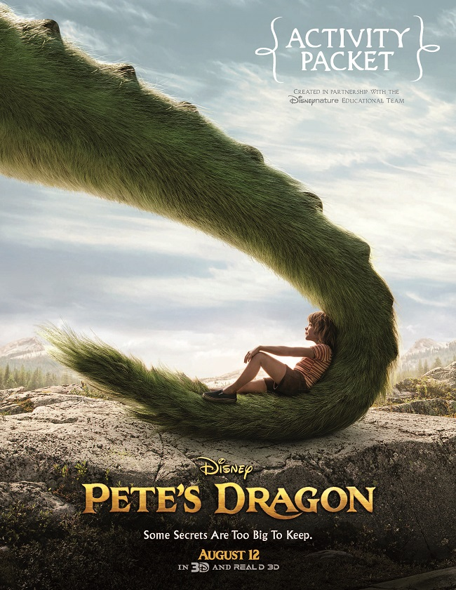 Free Pete's dragon coloring sheets kids activities