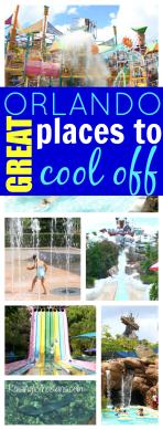 Great Orlando water parks pools splash pads