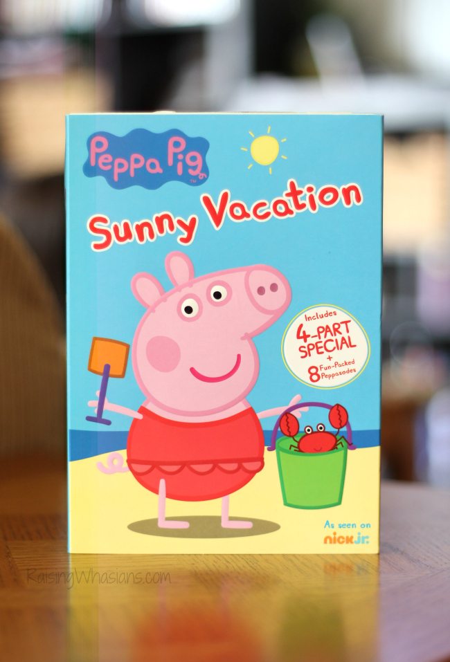 Peppa pig summer vacation dvd review