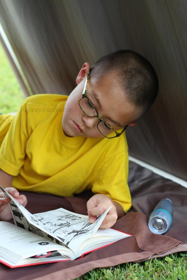 Reading tent diy