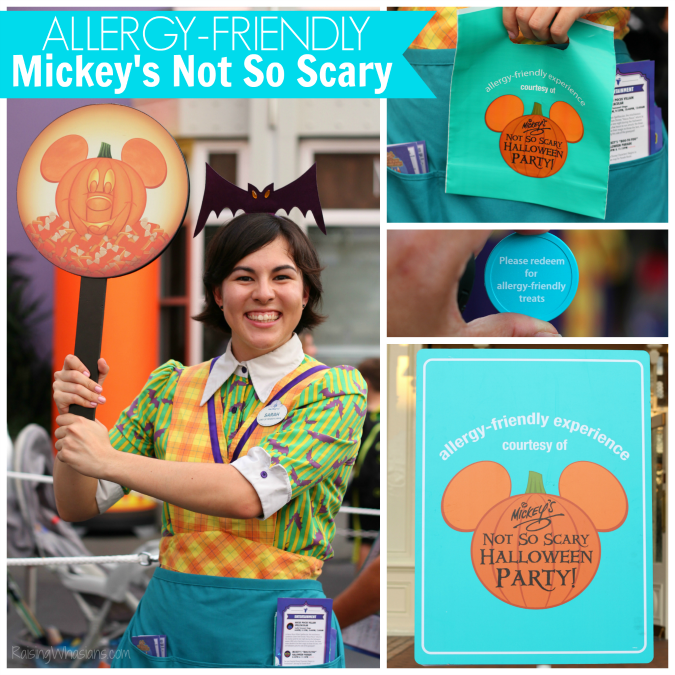 Allergy friendly Mickey's not so scary tips