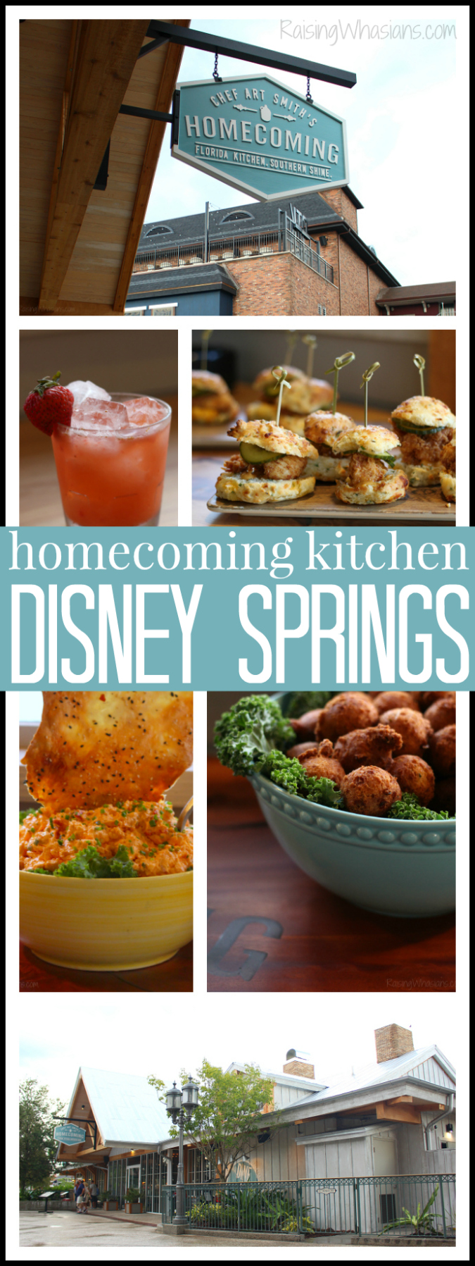Homecoming kitchen at Disney springs review