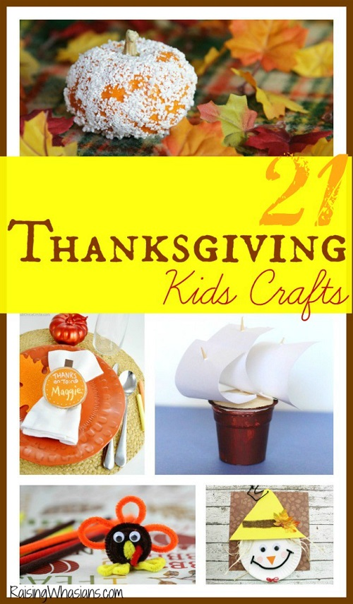 Thanksgiving kids crafts list