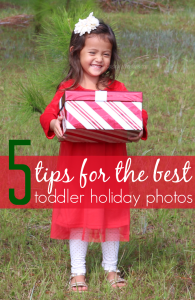5 Tips for the Best Toddler Holiday Photos + Best Deals on Kids Clothes