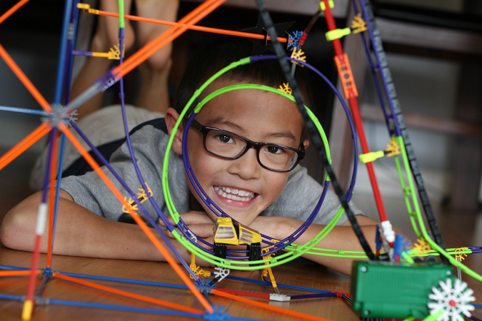 K'NEX roller coaster review