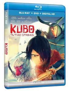 Kubo and the Two Strings on Blu-Ray Combo Pack