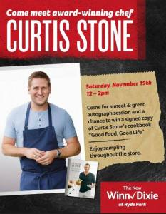 Meet Chef Curtis Stone at Winn-Dixie Orlando