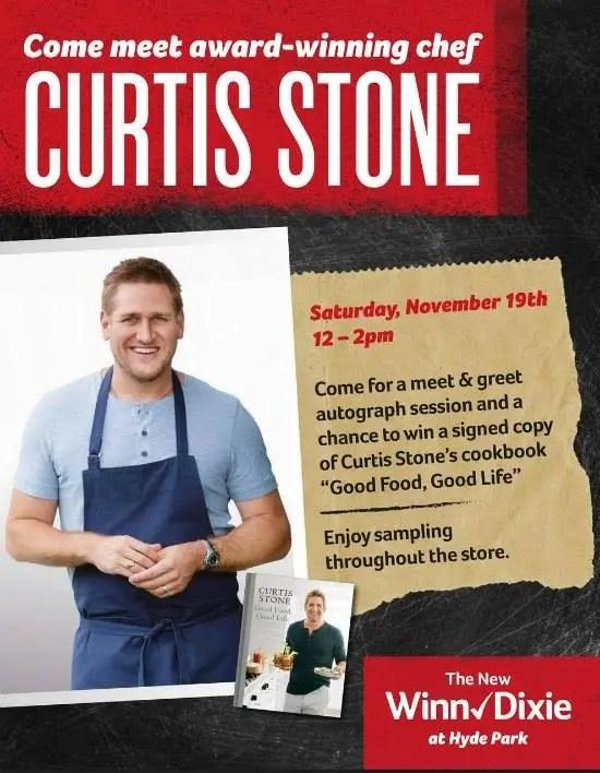 Meet chef Curtis stone at Winn-Dixie Orlando