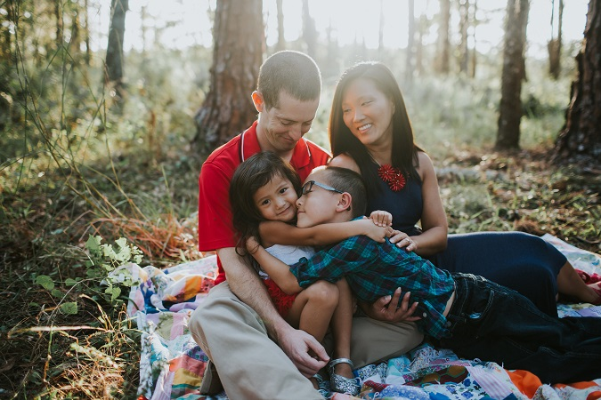 Our candid family photos with Ella Lu Photography