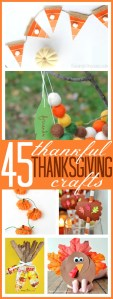 45 Thankful Thanksgiving Crafts for Kids