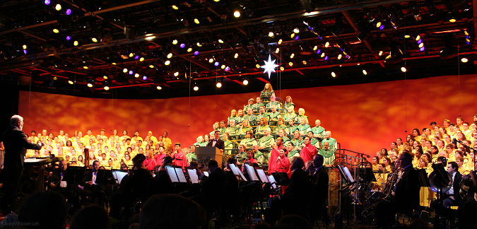 2016 Epcot candlelight processional tips