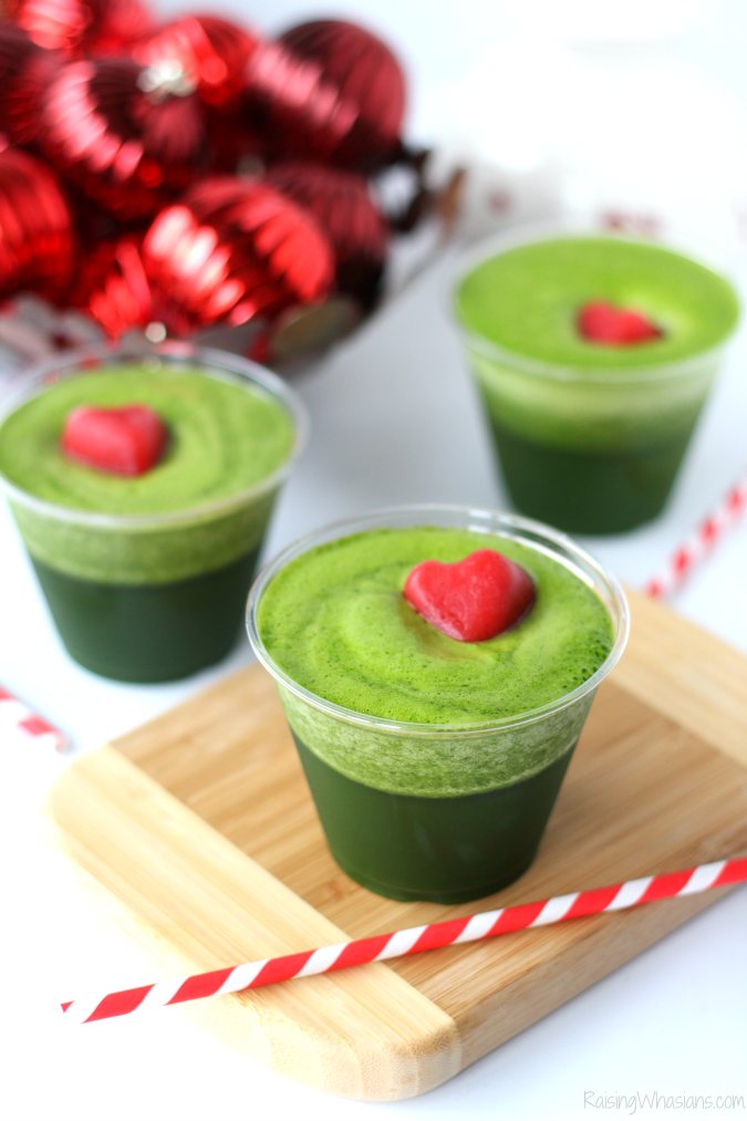 Grinch drink for kids