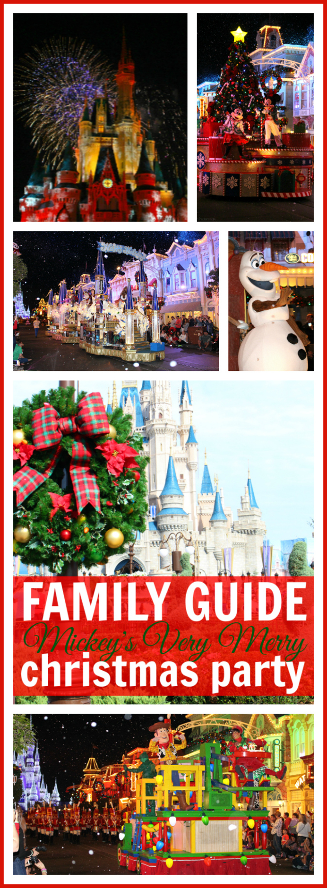 Mickey's very merry Christmas party tips pinterest