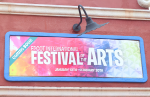 2017 Epcot Festival of the Arts Family Guide #ArtfulEpcot