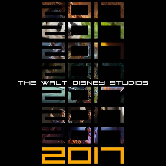 2017 Disney movie line up