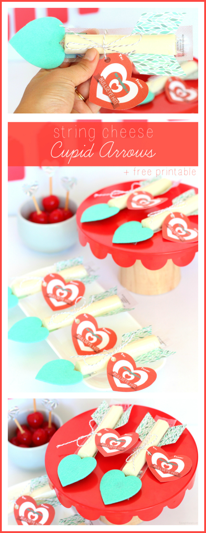 String cheese cupid arrows pinterest