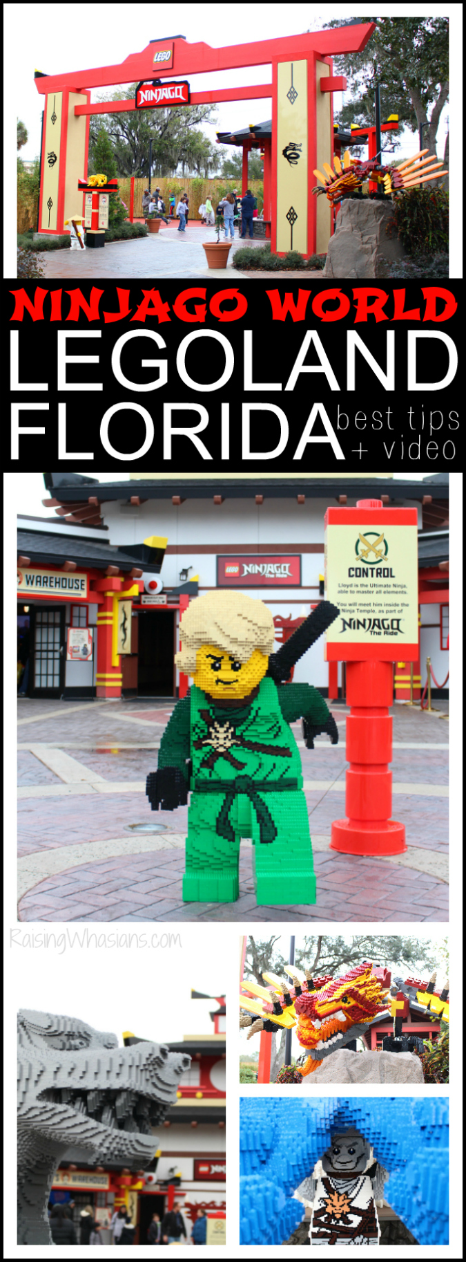 Ninjago world tips Legoland Florida pinterest