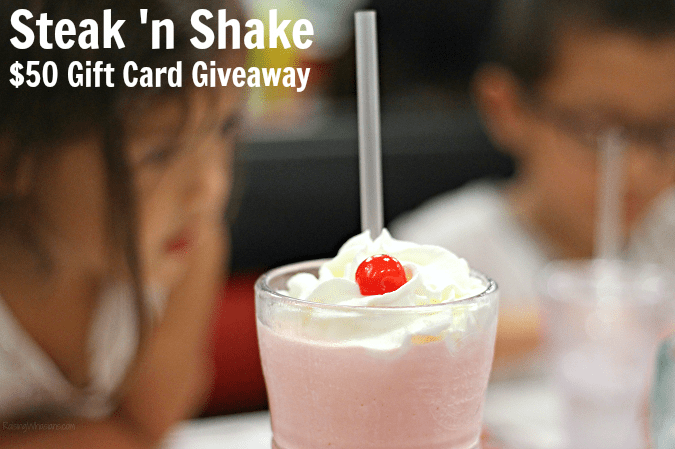 Steak 'n shake giveaway kids eat free all day