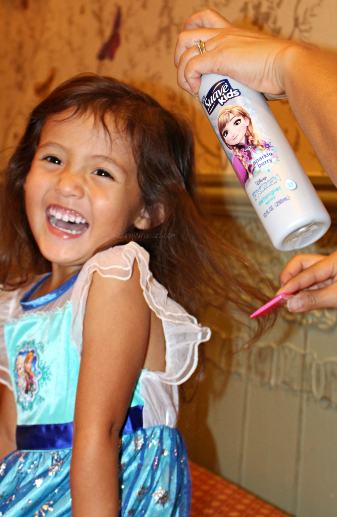 Suave kids Disney frozen detangler review