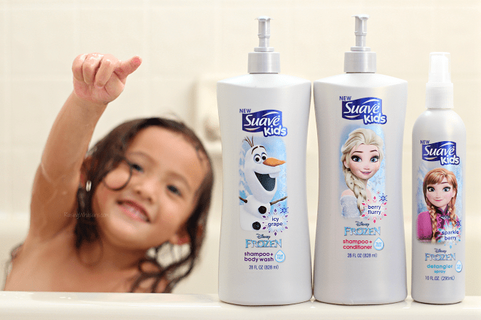 Suave kids frozen review