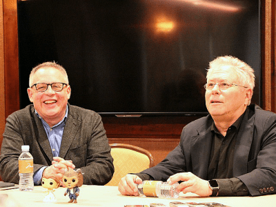 Alan Menken Bill Condon beauty and the beast interview