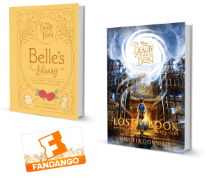 Beauty and the Beast Book Prize Pack + $50 Fandango Gift Card Giveaway